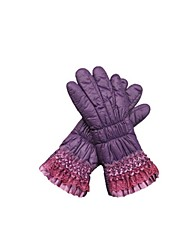 (NOTE - PURPLE) LADIES WINTER WARM OUTDOOR CYCLING GLOVES