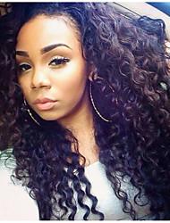 lace front perruques vague profonde de cheveux humains pour les femmes de style