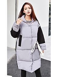 Sign Dongguk door purchasing Women Down stitching woolen coat winter coat