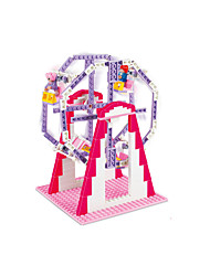 For Gift  Building Blocks Model & Building Toy ABS 5 to 7 Years ToysNumber of puzzle pieces 264