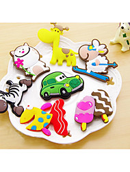 Random Delivery  Cartoon Fridge Stickers PVC Material Home Decoration