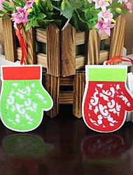 5pcs couleur aléatoire ont une ambiance de fête noël ornement cadeau de Noël décoration Pendentif