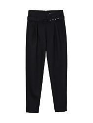 Mujer Pantalones Chinos-SimplePoliéster