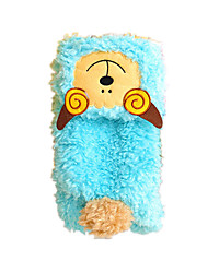 Dog Clothes/Jumpsuit Blue Dog Clothes Winter / Spring/Fall Solid Cute / Casual/Daily / Keep Warm