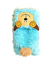 Cães Fantasias Camisola com Capuz Azul Roupas para Cães Inverno Primavera/Outono Animal Fofo Fantasias