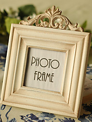 Vintage Theme Wood Photo Frames White