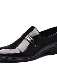 Men's Shoes Leather Spring Summer Fall Winter Comfort Fashion Boots Loafers & Slip-Ons Rivet For Casual Outdoor Office & Career Party &