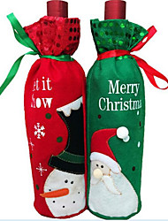 1PCS Christmas Wine Bottle Wine Bottle Bag