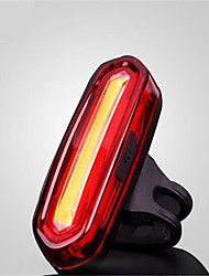 Rear Bike Light  Safety Reflectors LED LED Cycling Waterproof  Small Size  Anti Slip  Color-Changing USB MAX120 Lumens USB