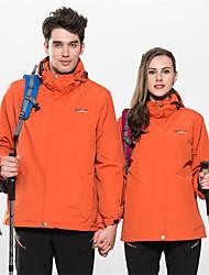 Wandern Ski/Snowboard Jacken / Windjacken / Softshell Jacken / Oberteile UnisexWasserdicht / Atmungsaktiv / warm halten / Rasche