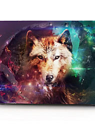 "Case for Macbook 13"" Macbook Air 11""/13"" Macbook Pro 13"" MacBook Pro 13"" with Retina display Animal Plastic Material Wolf Pattern"