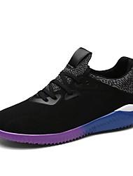 Femme-Extérieure / Sport-Noir / Bleu / GrisConfort-Chaussures d'Athlétisme-Daim