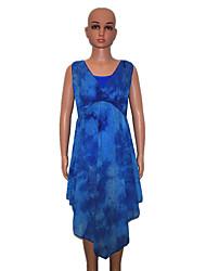 Latin Dance Dresses Women's / Children's Performance Nylon / Lycra 1 Piece Sleeveless Dress