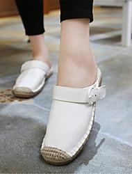 Damen-Slippers & Flip-Flops-Lässig-LederOthers-Weiß