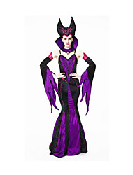 Fête / Célébration Déguisement Halloween Violet Couleur Pleine Jupe / Chapeau / Plus d'accessoires Halloween / Noël / Carnaval Féminin