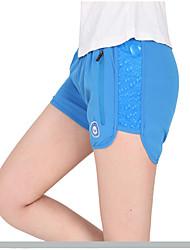Damen Laufschuhe Atmungsaktiv Shorts/Laufshorts Unten für Yoga Übung & Fitness Rennsport Laufen Lose Fuchsia Blau S M L XL XXL