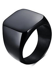 Ring Halloween / Wedding / Party / Daily / Casual / Sports Jewelry Titanium Steel Men Ring 1pc,7 / 8 / 9 / 10 / 11 / 12As Per Picture /
