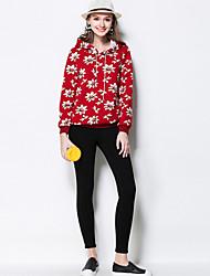 Femme Aux femmes Slim simple Coton / Polyester Elastique