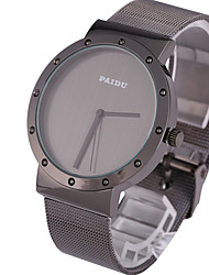 Paidu 58919 Japan Movt Male Quartz Watch Steel Net Strap Wristwatch relogio masculino