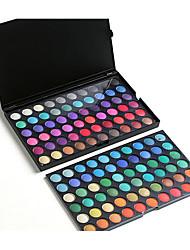120 Lidschattenpalette Trocken Lidschatten-Palette Kompaktpuder Normal Alltag Make-up