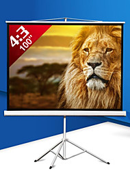 100 Inch 4:3 Bracket Tripod Projector Screen