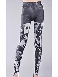 Femme Imprimé Polyester A Motifs Legging,Cet article est à TAILLE CORRESPONDANTE à votre taille normale.