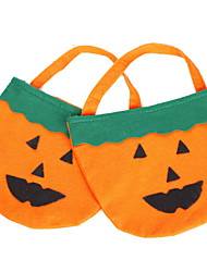 Halloween Factory Supplies Props Pumpkin Clothing Accessories Pumpkin Bag Pumpkin Buckets Pumpkin Bag