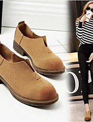 2016 Matte Pisen female flat shoes European and American Art soft bottom leather shoe foot lazy casual low-heeled shoes
