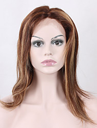 Blonde Full Lace Wig #4/27 Blonde 8A Brazilian Full Lace Human Hair Wigs staight 130 Density Blonde Lace Front Wig staight