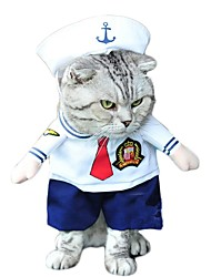 Dog Pet Cat 3D Clothes Halloween Cosplay Playing Costumes For Puppy Kitten Cool Apparel Skirts Clothes for Doggy Kitty