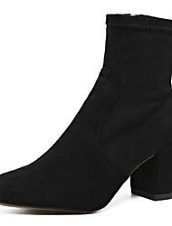 Women's Boots Others Leatherette Outdoor Low Heel Black / Green