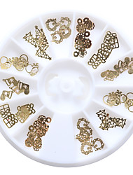 60pcs/Box Nail Art Decoration Rhinestone Pearls Makeup Cosmetic Nail Art Design