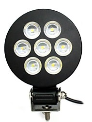 Liancheng® 5 inch 21W 9-32V High Brightness Round LED Work Light 6000K for Off-roadUTVATVBoatShip