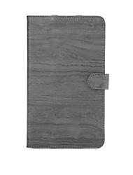 étui en cuir PU motif de bois de haute qualité avec le sommeil 8,4 pouces pad média huawei m3 (DL09 w09)