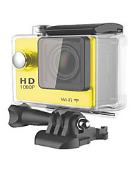 W9 Action Kamera / Sport-Kamera 16MP 4000 x 3000 Wifi / Wasserdicht / Einstellbar / Kabellos 30fps 4X ± 2 EV 2 CMOS 32 GB H.264