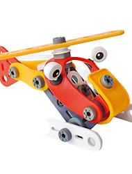 Blocos de Construir para presente Blocos de Construir Modelo e Blocos de Construção Carro / Helicóptero Plástico5 a 7 Anos / 8 a 13 Anos