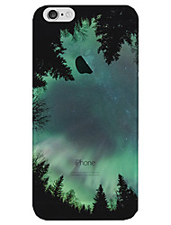 Translucent Case Back Cover Case Green Forest My Home Scenery Soft TPU for Apple iPhone 7 Plus / iPhone 7 / iPhone 6s/6 Plus / iPhone 5 5S