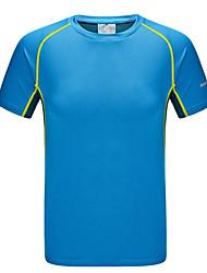 Homme Tee-shirt / Hauts/Tops Exercice & Fitness / Courses / Sport de détenteRespirable / Séchage rapide / Pare-vent / Résistant aux