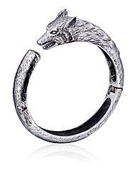Kalen Cool Wolf Charm Bracelet 316L Stainless Steel Animal Wolf Bracelets&Bangles For Men Hip Hop Cheap Party Male Accessory Gifts