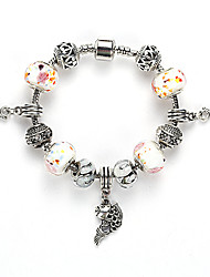 Fine Styly Beads Strand Bracelet with Beautiful Pendant Charm Bracelet