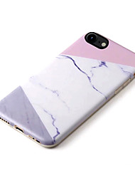 Para iPhone 8 iPhone 8 Plus iPhone 7 iPhone 7 Plus iPhone 6 Case Tampa Estampada Capa Traseira Capinha Mármore Macia PUT para Apple