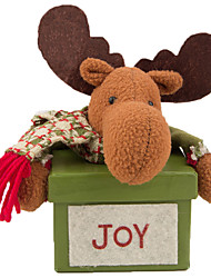 Decorações Natalinas Ternos de Papai Noel Elk