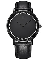 Women's Fashion Watch Wrist watch Water Resistant / Water Proof Imitation Diamond Japanese Quartz Genuine Leather BandSparkle Charm