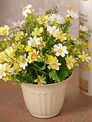 1 1 Ramo Plástico / Outras Outras Flor de Mesa Flores artificiais