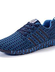 Femme-Sport-Bleu / Vert / Noir et rouge / Noir et blanc-Talon Plat-Baby-Chaussures d'Athlétisme-Tulle