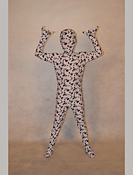 Festival/Holiday Costumes Black/White Print Zentai Kid Lycra Fully Covered