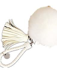 Key Chain Leisure Hobby Key Chain Sphere Metal White For Girls