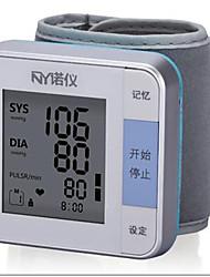pulso Monitor de Pressão Arterial Automático Apresentação LCD / Desligamento Automático Bateria ABS
