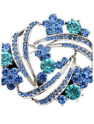 Women's Brooches Crystal Imitation Diamond Jewelry For Wedding Party Daily Casual