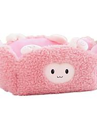 Игрушка для собак Игрушки для животных Плюшевые игрушки Мультфильмы Розовый Хлопок